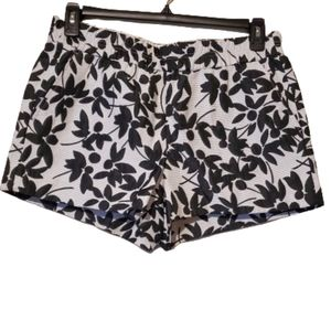 J.Crew Floral Pull In Shorts